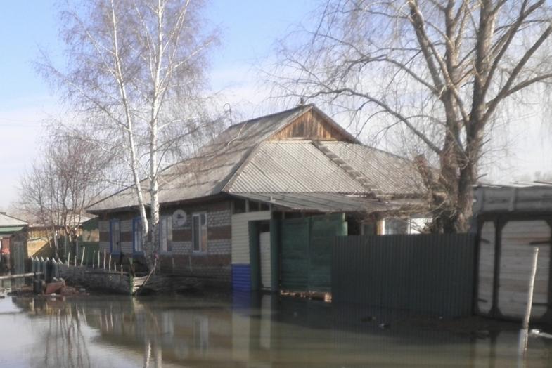 Насевере Омской области ожидают падения уровня воды