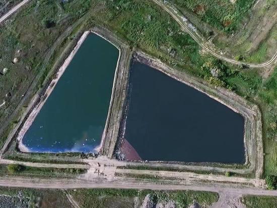 В Омске обнаружили водоемы с химическими отходами
