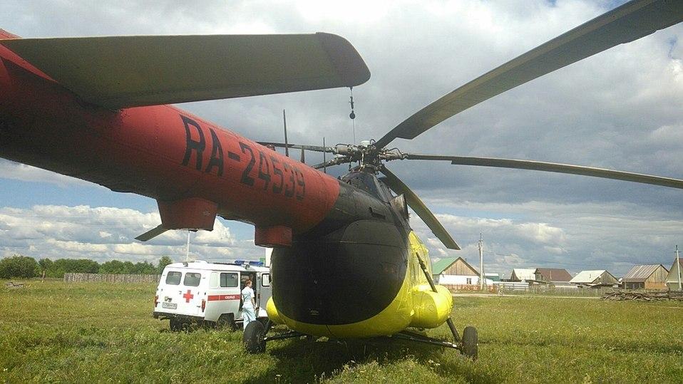 Вертолет МЧС РФ останется вомской санавиации доконца года
