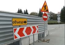 Омичи обеспокоились медленным темпом ремонтных работ на Юбилейном мосту