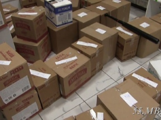 В личном доме отыскали 13 тыс. бутылок «левого» алкоголя