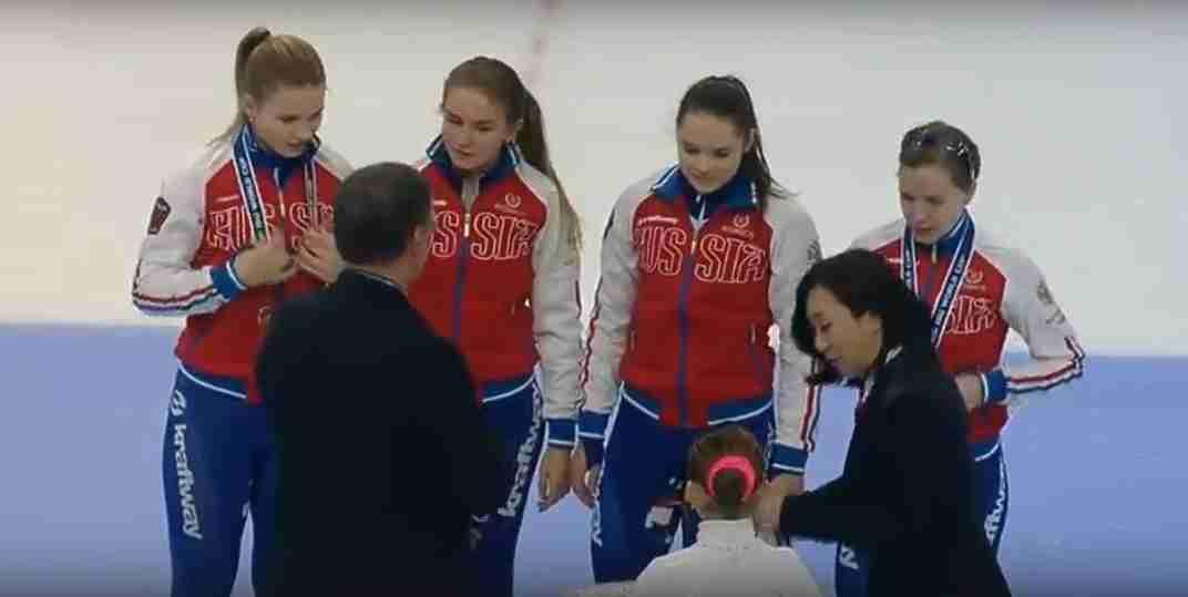 Сборная России – вторая в эстафете на этапе Кубка мира в Сеуле