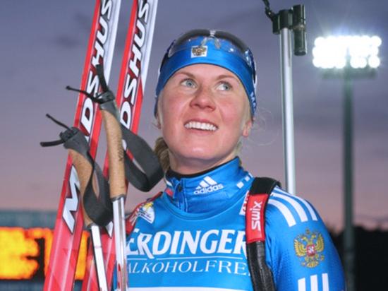 Глава региона встал на защиту лишенной медали омской биатлонистки Романовой