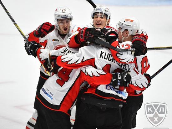 Хоккей: минское «Динамо» проиграло «Словану» взаключительном матче сезона